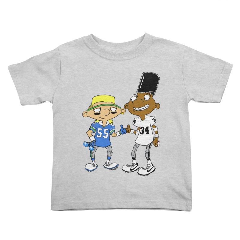 Hey Bo n' Boz Kids Toddler T-Shirt by Adam Ballinger Artist Shop