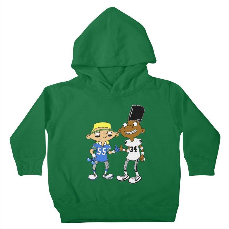 Hey Bo n' Boz Kids Toddler Pullover Hoody by Adam Ballinger Artist Shop