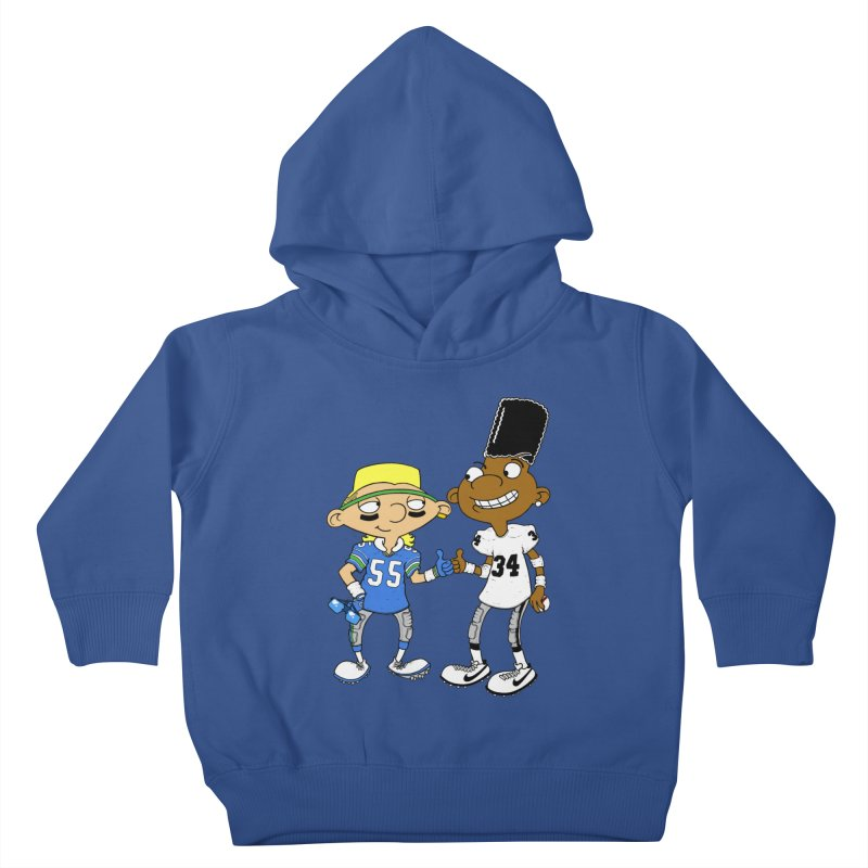 Hey Bo n' Boz Kids Toddler Pullover Hoody by Adam Ballinger Art