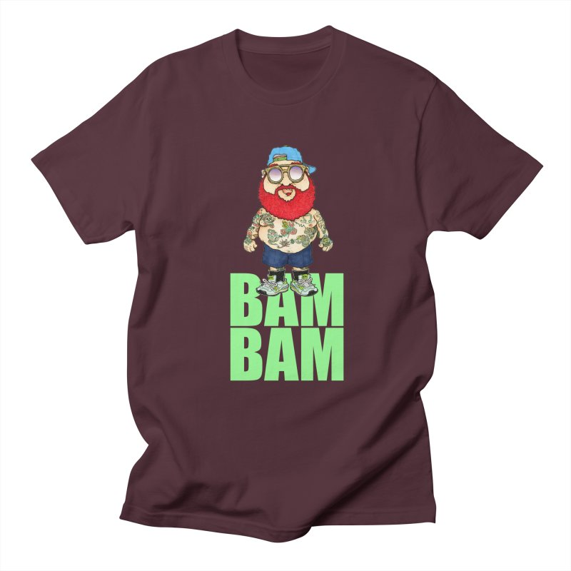 Bam Bam Women's Unisex T-Shirt by Adam Ballinger Artist Shop