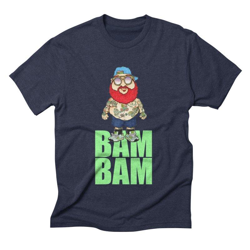 Bam Bam Men's Triblend T-shirt by Adam Ballinger Artist Shop