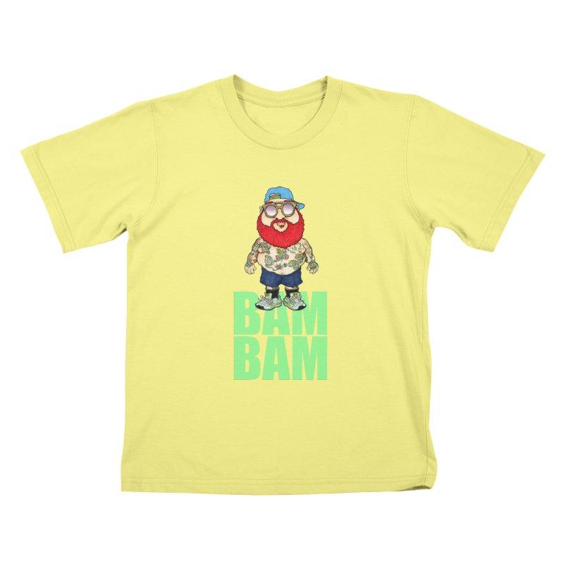 Bam Bam Kids T-shirt by Adam Ballinger Artist Shop