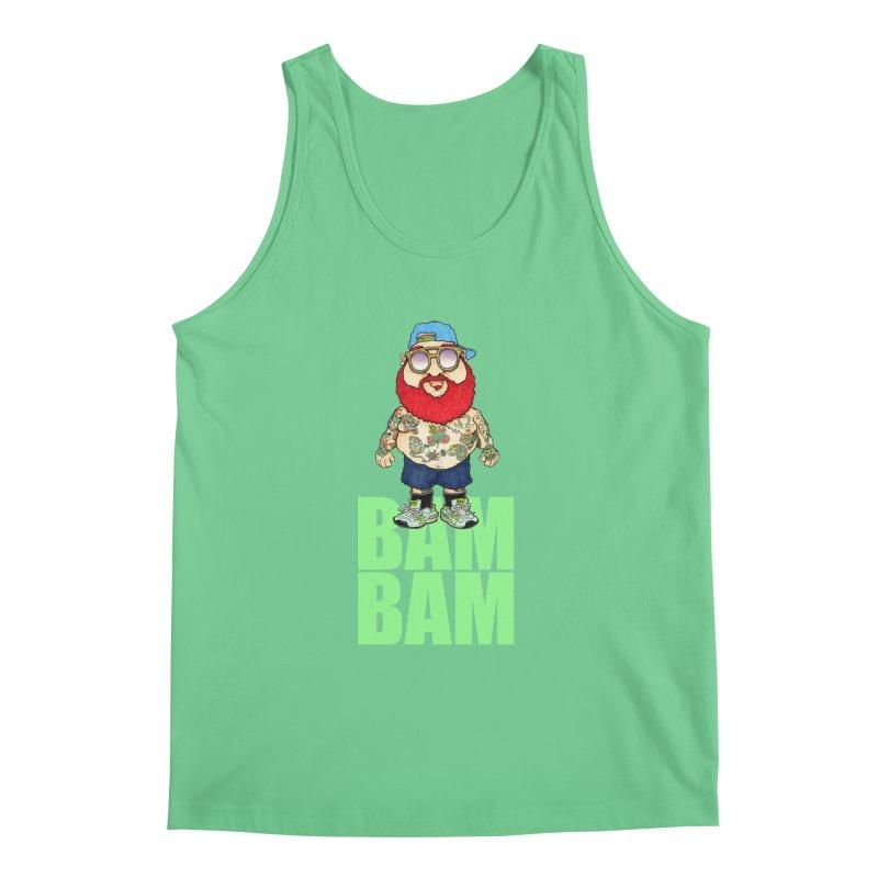 Bam Bam Men's Tank by Adam Ballinger Artist Shop