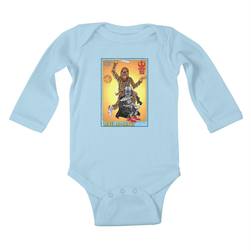 Take that Vader! Kids Baby Longsleeve Bodysuit by Adam Ballinger Artist Shop
