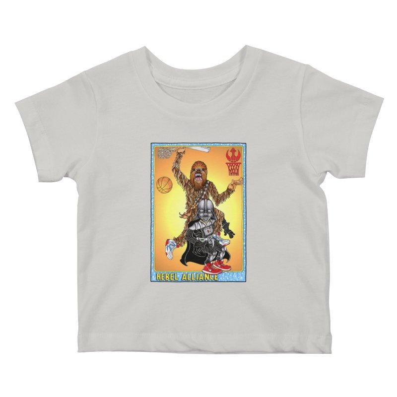 Take that Vader! Kids Baby T-Shirt by Adam Ballinger Artist Shop