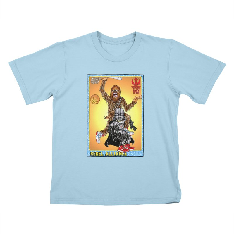 Take that Vader! Kids T-shirt by Adam Ballinger Artist Shop