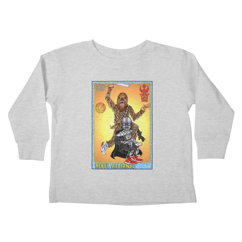 Take that Vader! Kids Toddler Longsleeve T-Shirt by Adam Ballinger Artist Shop