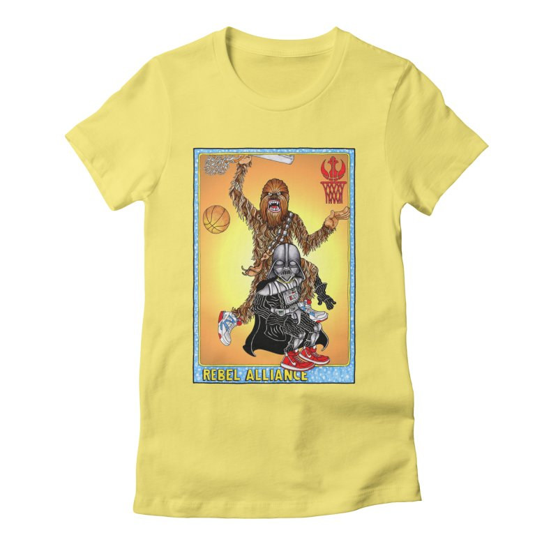 Take that Vader! Women's Fitted T-Shirt by Adam Ballinger Artist Shop