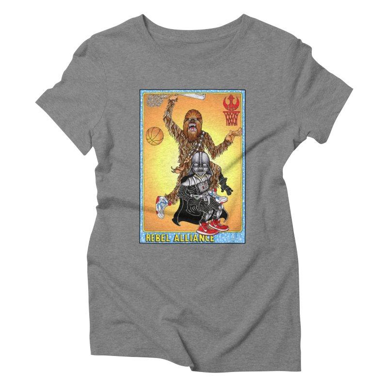 Take that Vader! Women's Triblend T-shirt by Adam Ballinger Artist Shop