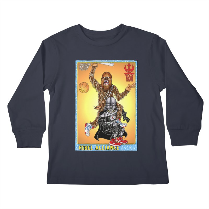 Take that Vader! Kids Longsleeve T-Shirt by Adam Ballinger Artist Shop