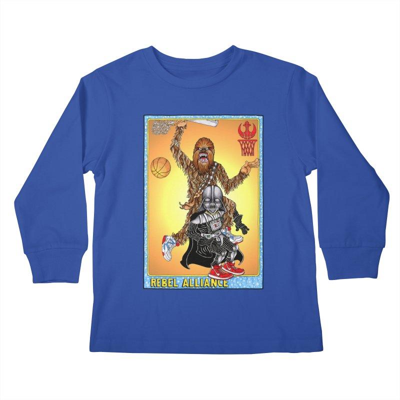 Take that Vader! Kids Longsleeve T-Shirt by Adam Ballinger Artist Shop