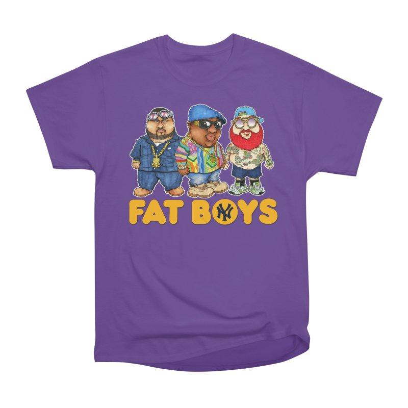 FAT BOYZ Men's Classic T-Shirt by Adam Ballinger Art