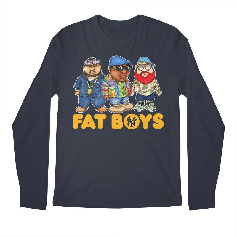 FAT BOYZ Men's Longsleeve T-Shirt by Adam Ballinger Artist Shop