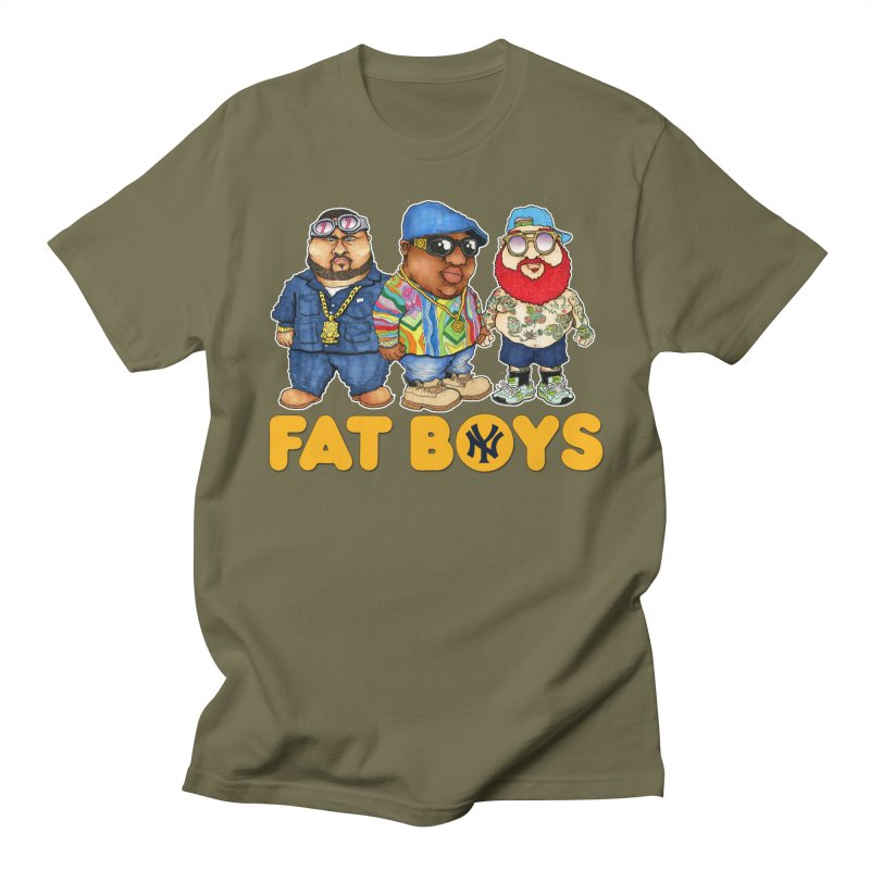FAT BOYZ Women's Unisex T-Shirt by Adam Ballinger Artist Shop