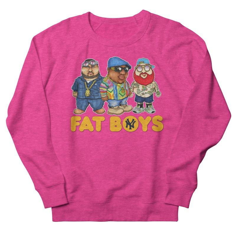 FAT BOYZ Women's Sweatshirt by Adam Ballinger Artist Shop