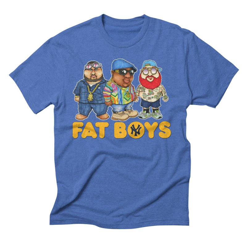 FAT BOYZ Men's Triblend T-Shirt by Adam Ballinger Artist Shop