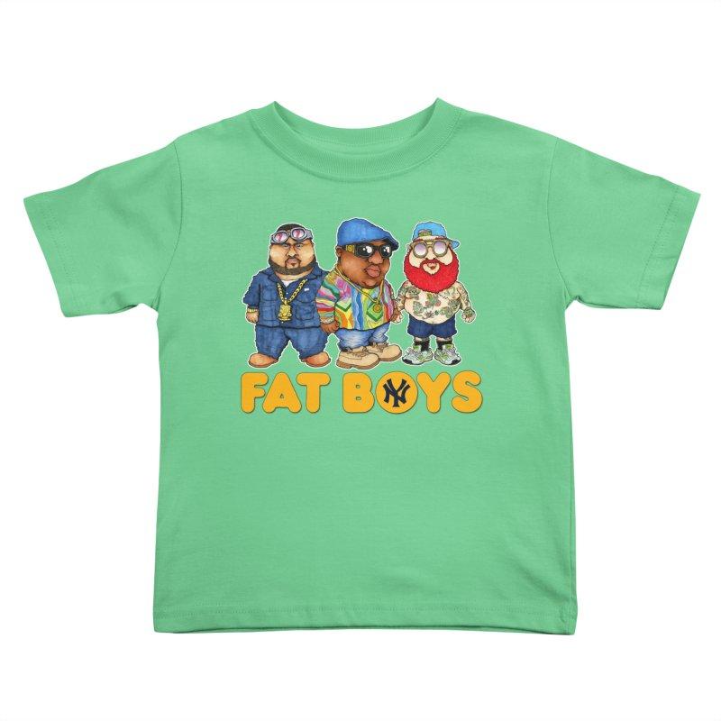 FAT BOYZ Kids Toddler T-Shirt by Adam Ballinger Artist Shop