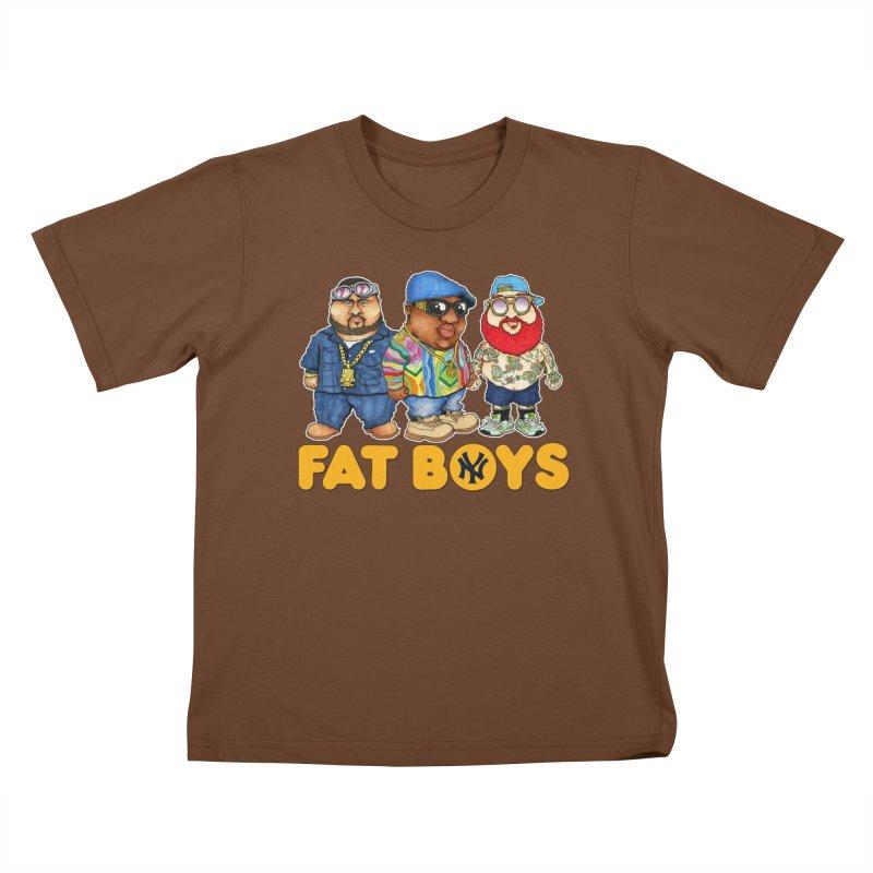 FAT BOYZ Kids T-shirt by Adam Ballinger Artist Shop