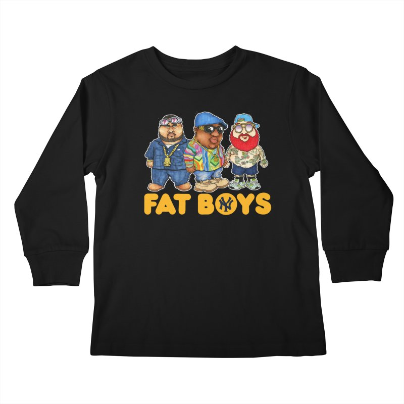 FAT BOYZ Kids Longsleeve T-Shirt by Adam Ballinger Artist Shop
