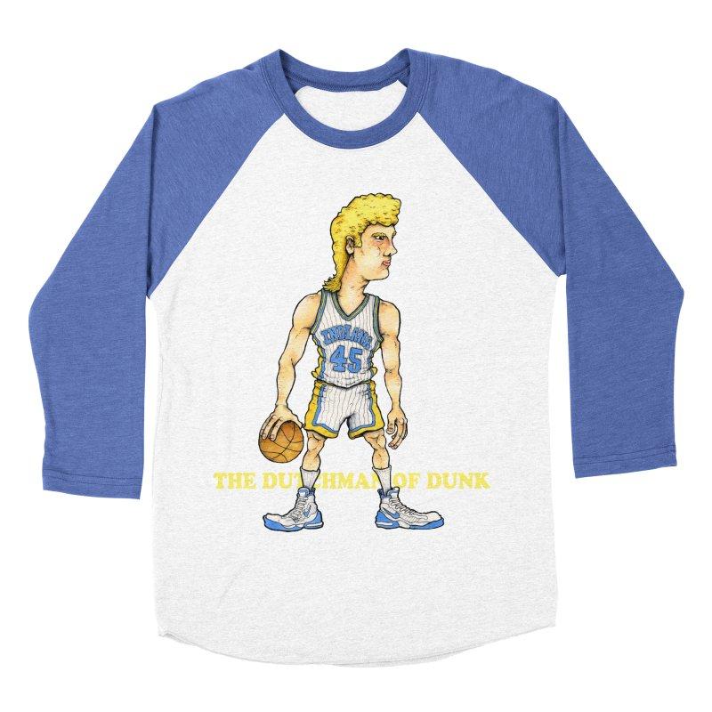The Dunking Dutchman Women's Baseball Triblend T-Shirt by Adam Ballinger Artist Shop