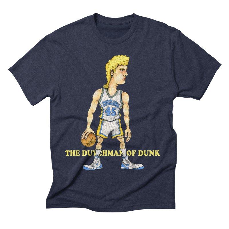The Dunking Dutchman Men's Triblend T-shirt by Adam Ballinger Artist Shop