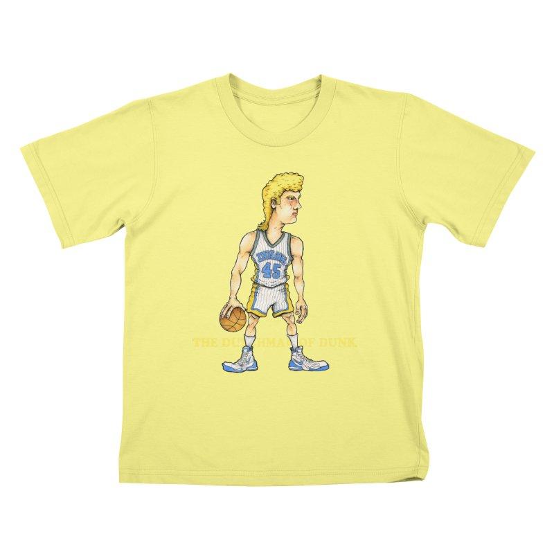 The Dunking Dutchman Kids T-shirt by Adam Ballinger Artist Shop