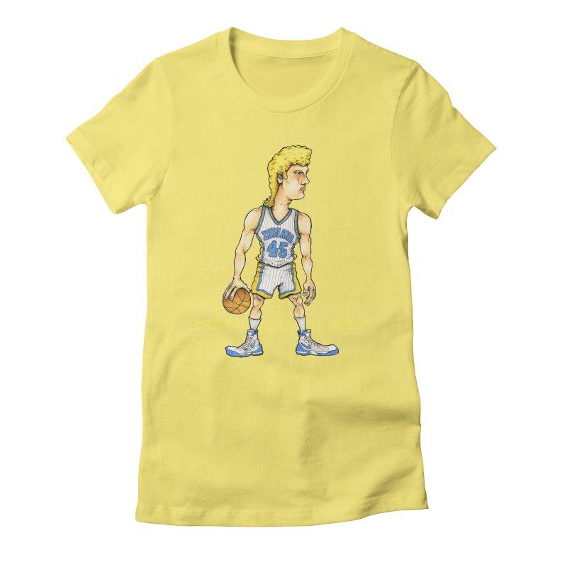 The Dunking Dutchman Women's Fitted T-Shirt by Adam Ballinger Artist Shop