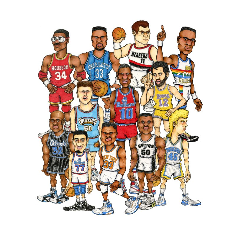 90's BIG FELLAS by Adam Ballinger Artist Shop