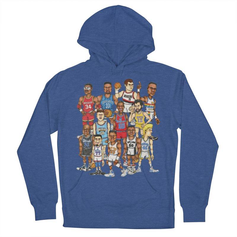 90's BIG FELLAS Men's Pullover Hoody by Adam Ballinger Artist Shop