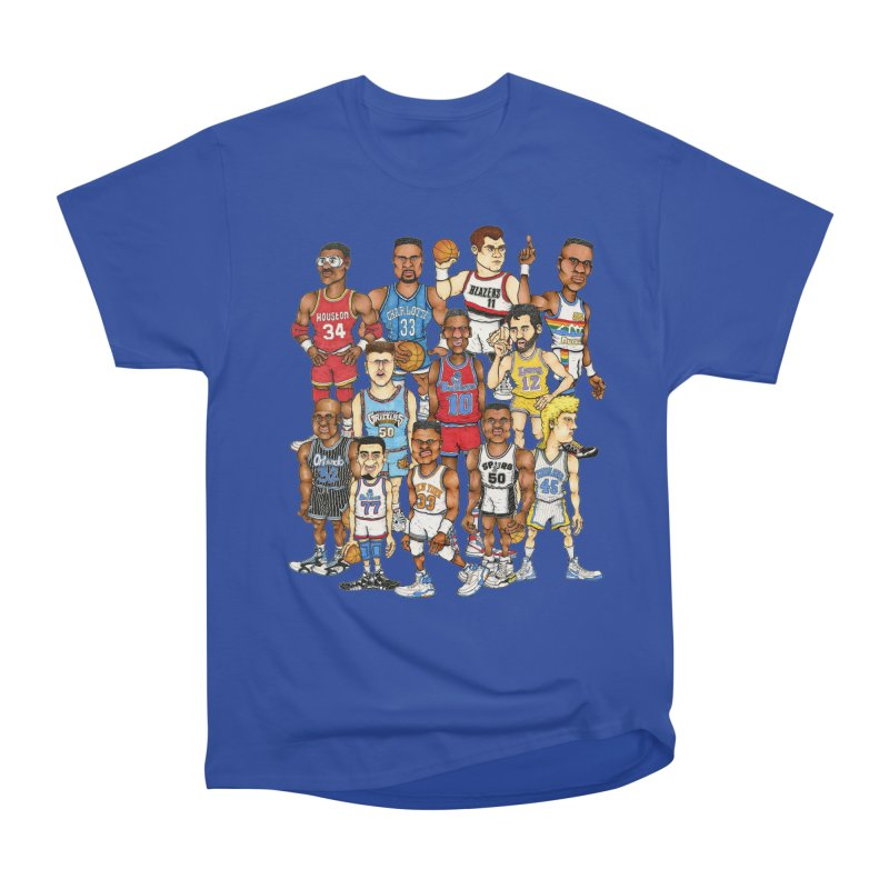 90's BIG FELLAS Women's Classic Unisex T-Shirt by Adam Ballinger Artist Shop