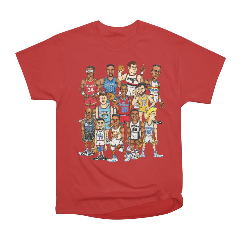 90's BIG FELLAS Men's Classic T-Shirt by Adam Ballinger Artist Shop