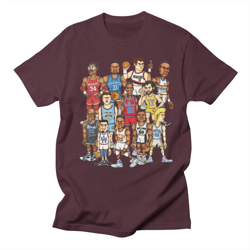 90's BIG FELLAS Women's Unisex T-Shirt by Adam Ballinger Artist Shop