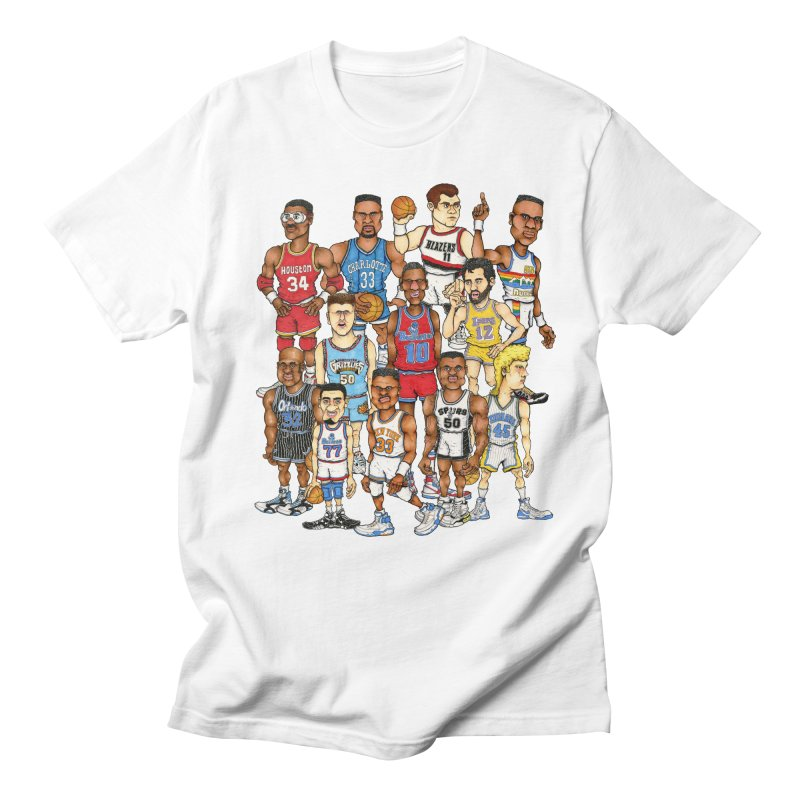 90's BIG FELLAS Men's T-Shirt by Adam Ballinger Artist Shop