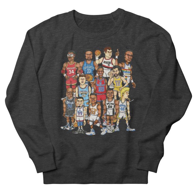 90's BIG FELLAS Women's Sweatshirt by Adam Ballinger Artist Shop