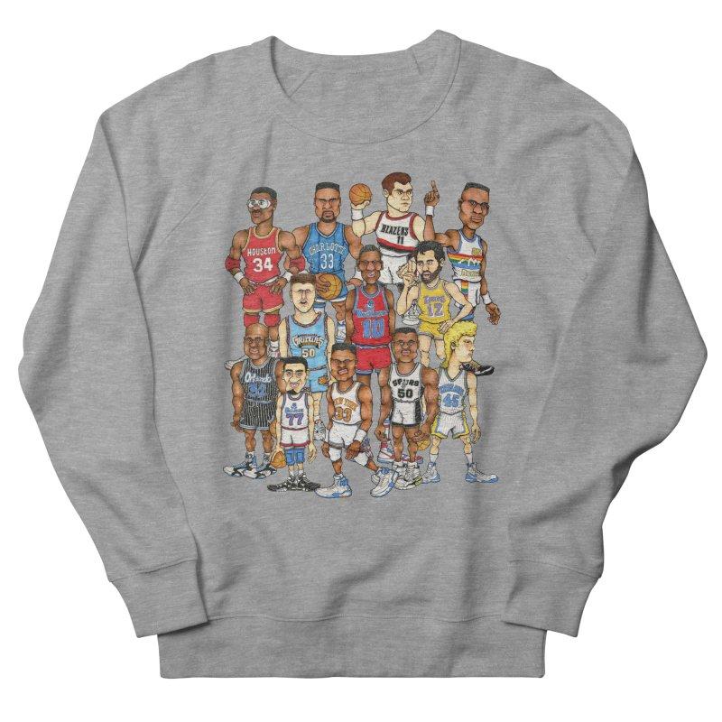90's BIG FELLAS Men's Sweatshirt by Adam Ballinger Artist Shop