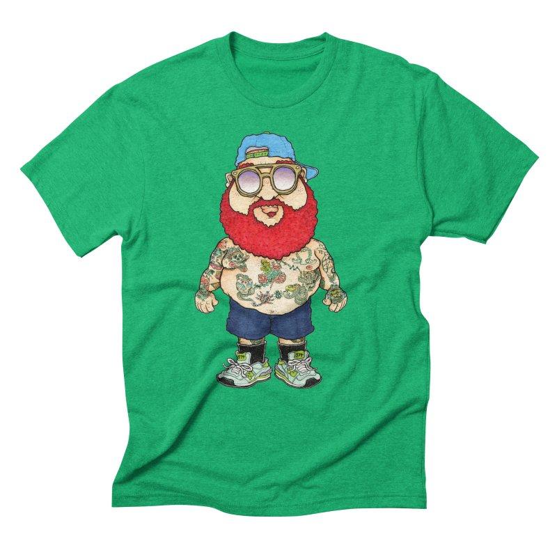 7000 Men's Triblend T-Shirt by Adam Ballinger Art