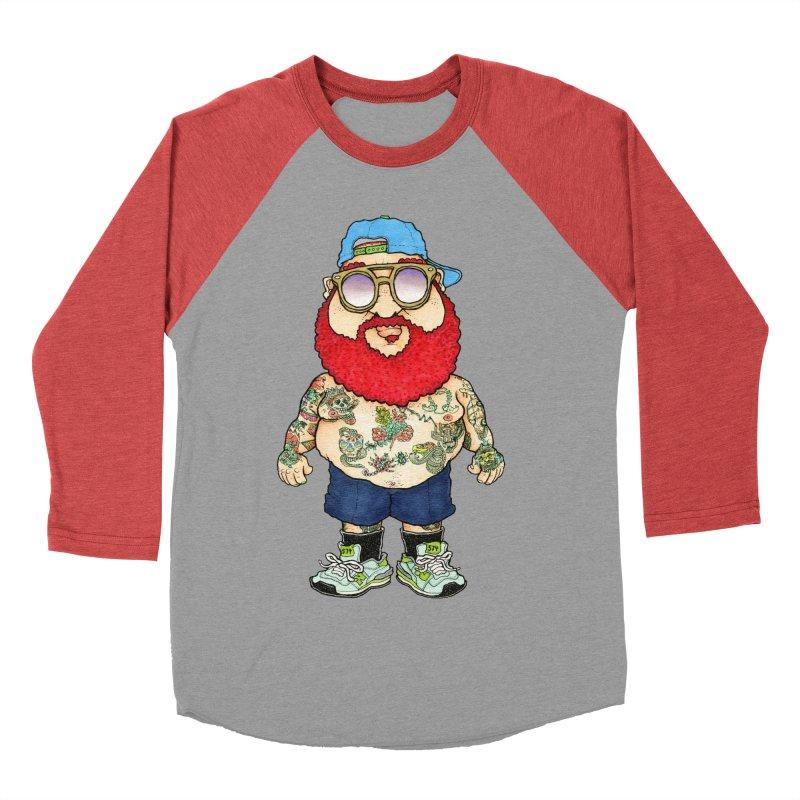 7000 Men's Baseball Triblend T-Shirt by Adam Ballinger Artist Shop