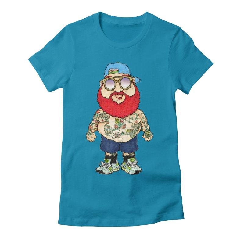 7000 Women's Fitted T-Shirt by Adam Ballinger Artist Shop