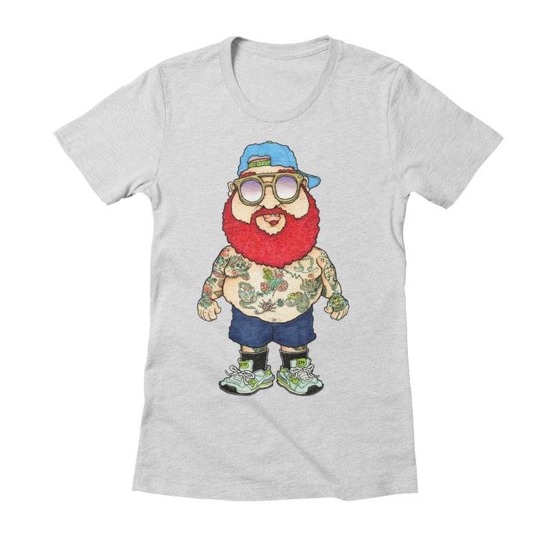 7000 Women's Fitted T-Shirt by Adam Ballinger Art