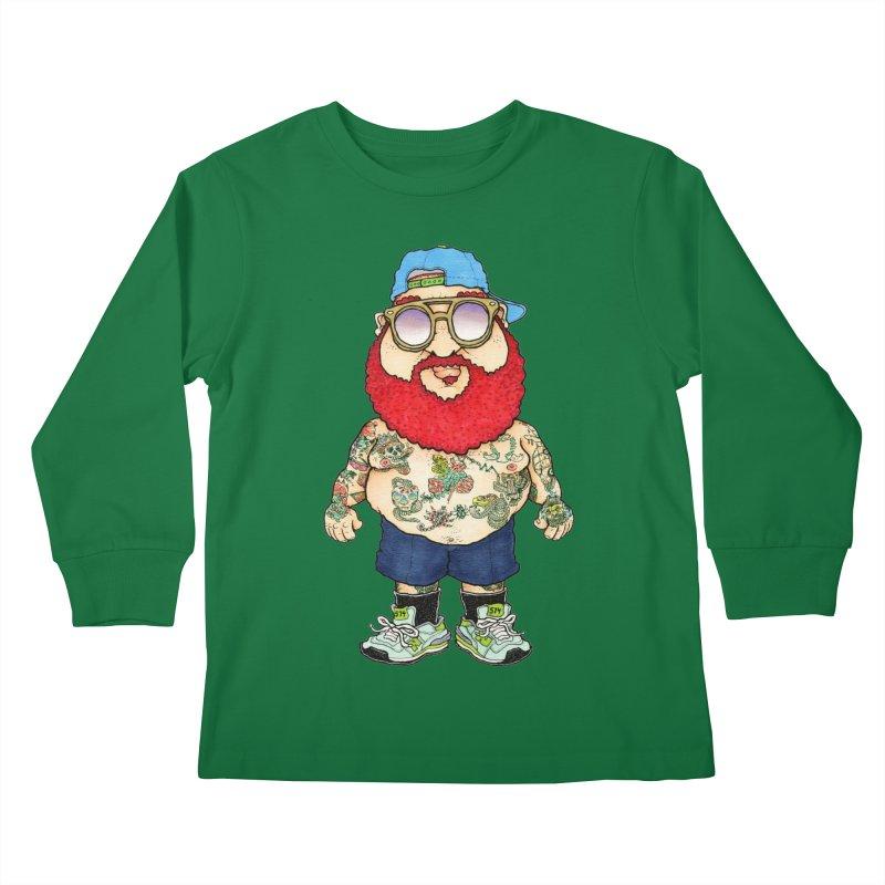 7000 Kids Longsleeve T-Shirt by Adam Ballinger Art
