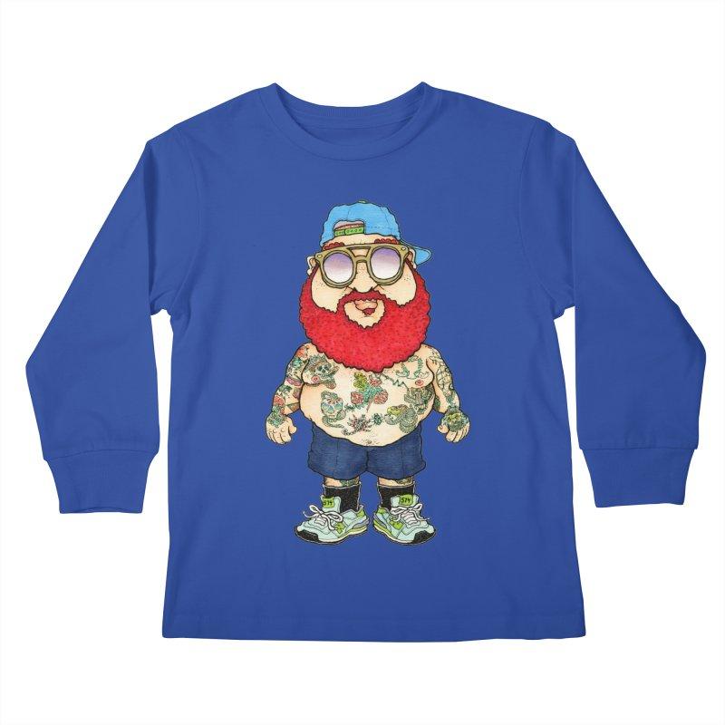 7000 Kids Longsleeve T-Shirt by Adam Ballinger Artist Shop
