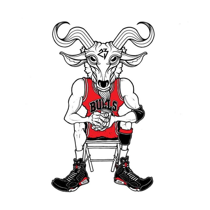 The Goat by Adam Ballinger Art