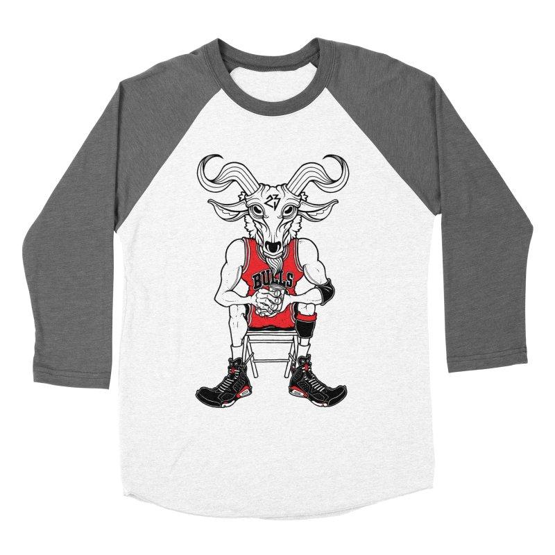 The Goat Men's Baseball Triblend T-Shirt by Adam Ballinger Artist Shop