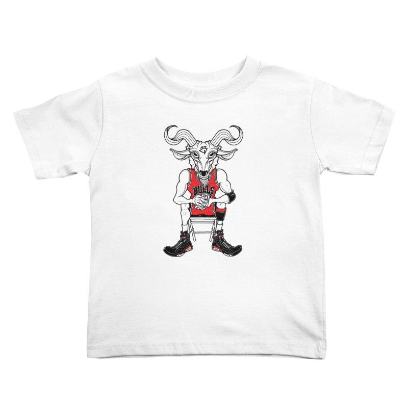 The Goat Kids Toddler T-Shirt by Adam Ballinger Artist Shop
