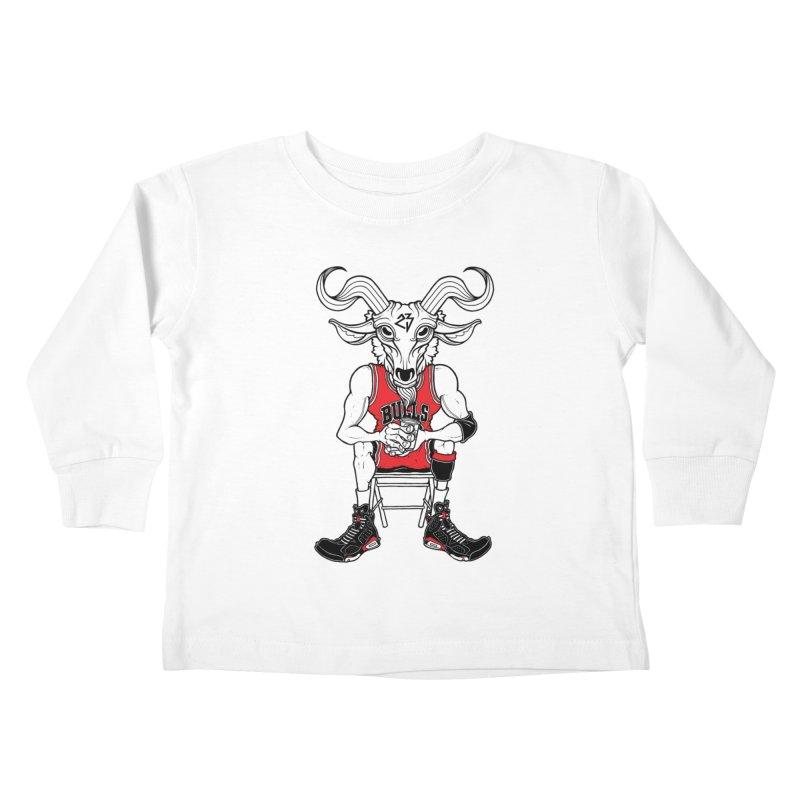 The Goat Kids Toddler Longsleeve T-Shirt by Adam Ballinger Art