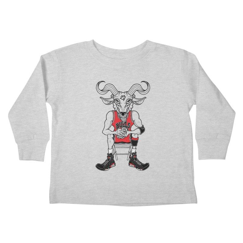 The Goat Kids Toddler Longsleeve T-Shirt by Adam Ballinger Artist Shop