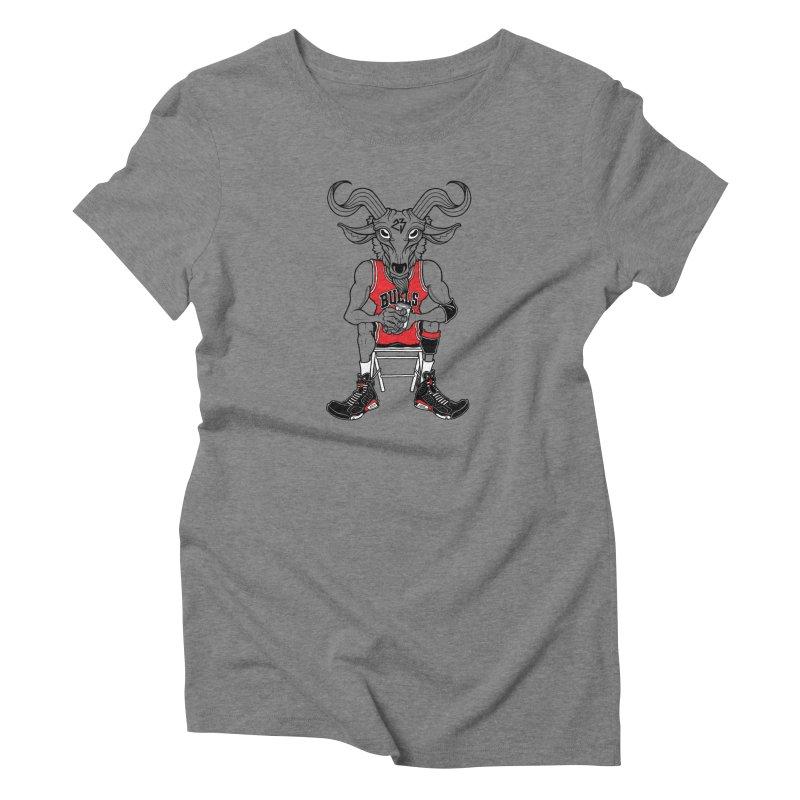 The Goat Women's Triblend T-Shirt by Adam Ballinger Art