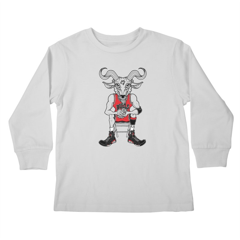 The Goat Kids Longsleeve T-Shirt by Adam Ballinger Artist Shop
