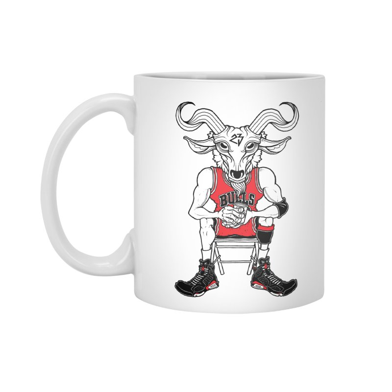 The Goat Accessories Mug by Adam Ballinger Art