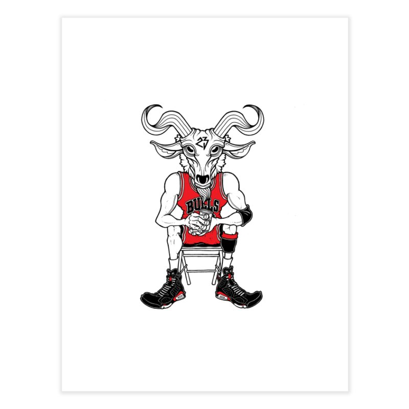 The Goat Home Fine Art Print by Adam Ballinger Art